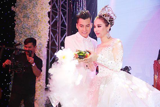 Lâm Khánh Chi, đám cưới Lâm Khánh Chi, sao Việt