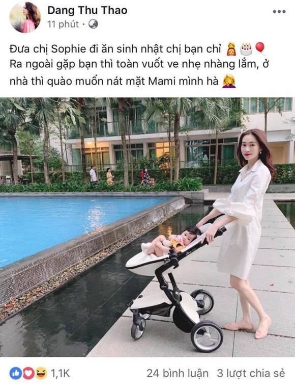 Đặng Thu Thảo, con Đặng Thu Thảo, sao Việt
