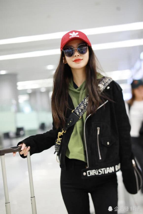 diễn viên, angelababy, thời trang sân bay, sao hoa ngữ