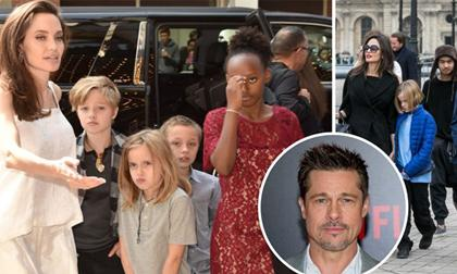 Angelina Jolie,Brad Pitt,sao Hollywood