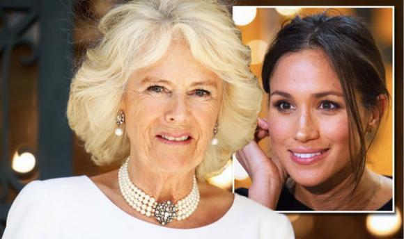Hoàng gia Anh,Meghan mang thai,Camilla Parker