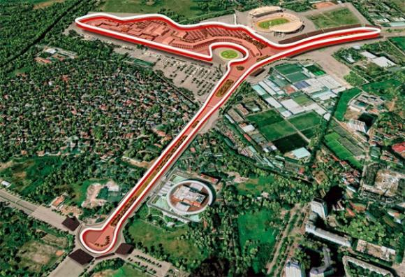 ,đua xe F1, f1, chặng đua xe f1 tại hà nội