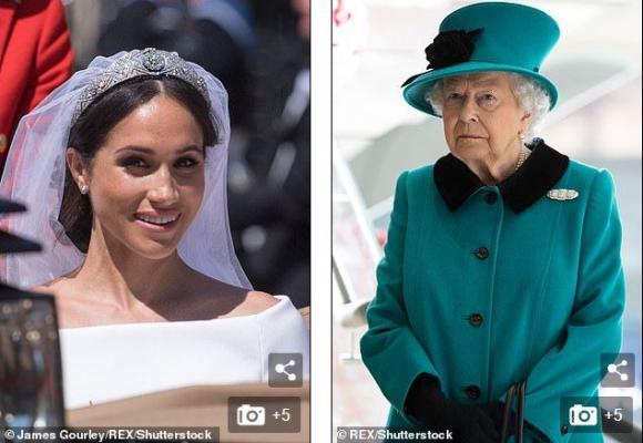 Hoàng gia Anh,Hoàng tử Harry ,Nữ hoàng Anh,Meghan Markle,Nữ hoàng Elizabeth