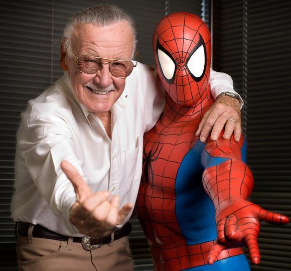Stan Lee,cha đẻ các siêu anh hùng,nhà sáng lập Marvel