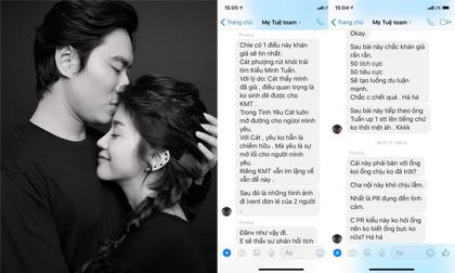 Cát Phượng, an nguy, người tình an nguy, sao việt, Alex Nguyễn