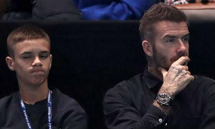 Romeo Beckham công khai bạn gái,Romeo Beckham,con trai David Beckham,bạn gái Romeo Beckham