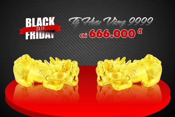 Vàng Ancarat, Vàng phong thủy, Black Friday