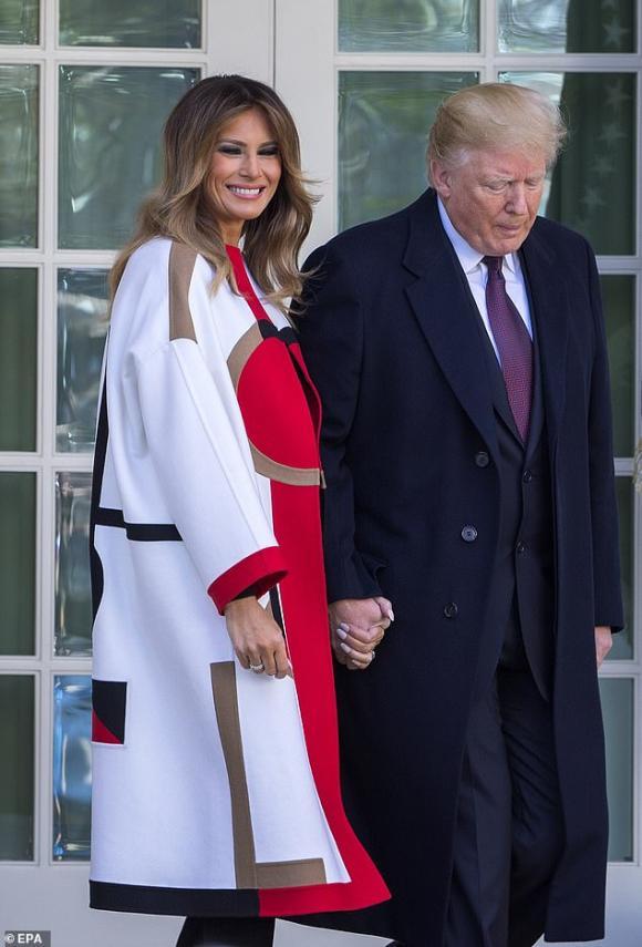 đệ nhất phu nhân mỹ, melania trump, thời trang đệ nhất phu nhân mỹ
