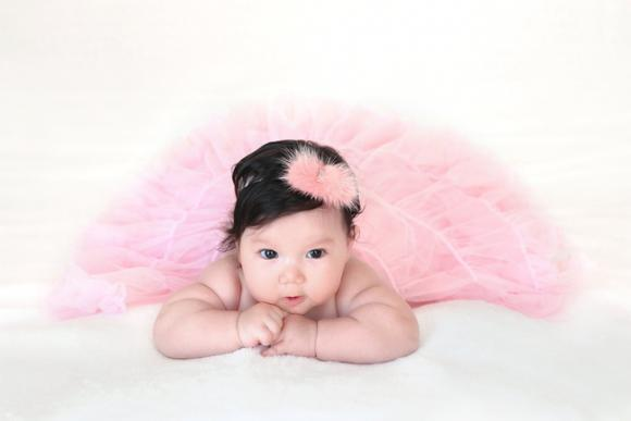 Hà Anh,con gái siêu mẫu Hà Anh,bé Myla,gia đình siêu mẫu Hà Anh
