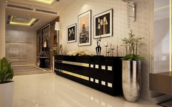 Hoa hậu Thu Hoài, căn hộ của Hoa hậu Thu Hoài, sao Việt