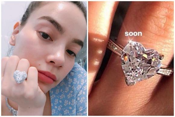 Minh Hằng, nhẫn kim cương, Hồ Ngọc Hà, sao Việt