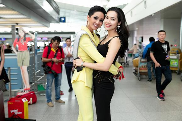 H'Hen Niê, Hoàng My, Hoa hậu Hoàn vũ 2018