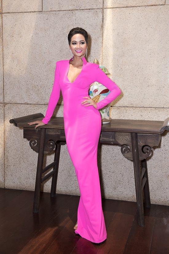 Hoa hậu H'Hen Niê, Làm đẹp cùng sao, bí quyết để có thân hình đẹp