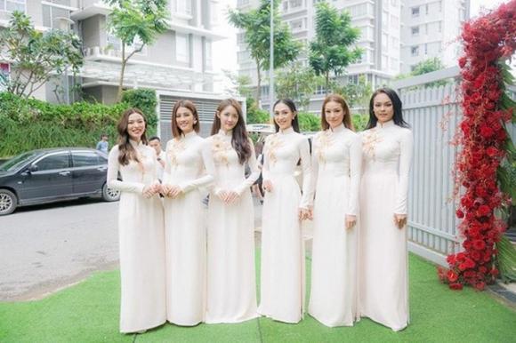 Đám cưới thanh tú,phù dâu đám cưới sao việt,đám cưới sao việt