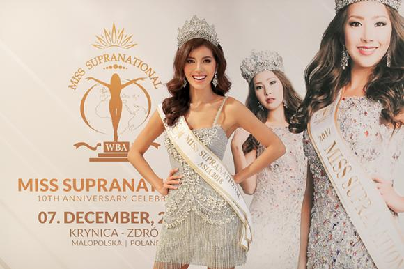 Miss Supranational 2018,Minh Tú,sao Việt