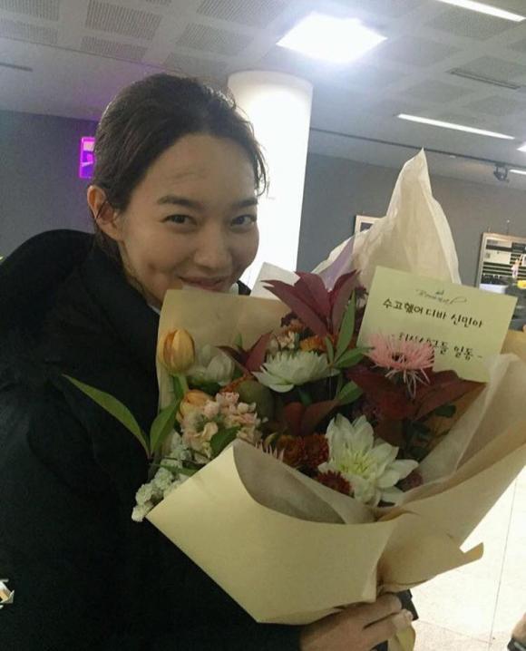 diễn viên, kim woo bin, shin min ah, sao hàn