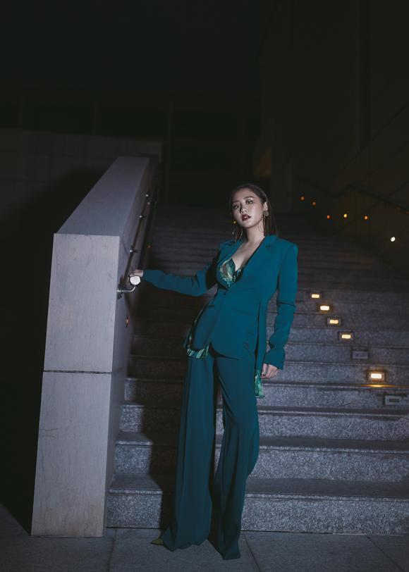 Văn Mai Hương,Văn Mai Hương diện menswear,sao Việt