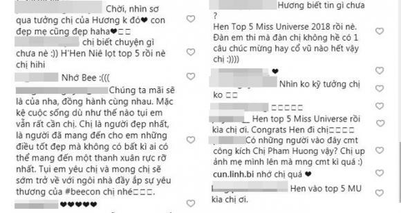 Phạm Hương, H'Hen Niê, sao Việt