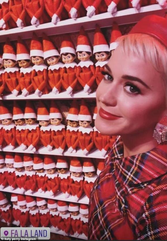 katy perry, orlando bloom, sao hollywood, lễ giáng sinh
