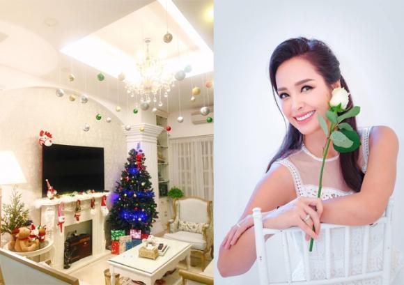 Biệt thự sao việt, Tăng Thanh Hà, Hoa hậu Đặng Thu Thảo, Lễ Giáng sinh