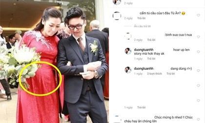 Á hậu Tú Anh,Tú Anh sinh con,sao Việt,vợ chồng Á hậu Tú Anh