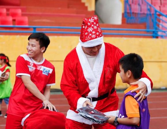 Đức Huy, Duy Mạnh, đội tuyển Việt Nam, Giáng sinh 2018