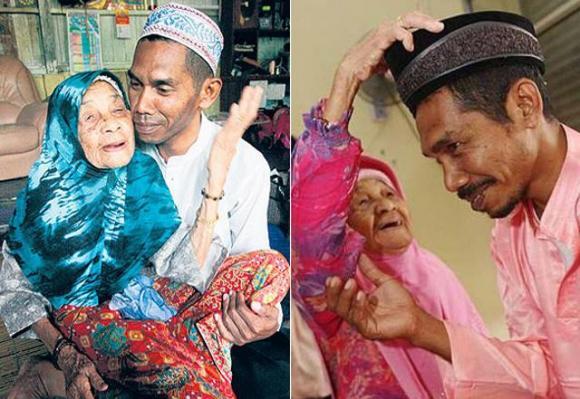 Cụ bà 109 tuổi lấy chồng, cụ bà lấy chồng kém 70 tuổi, chuyện lạ quanh ta