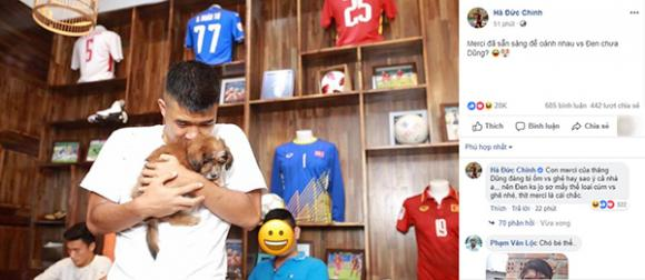 Tiến Dũng, Đức Chinh, hot boy, ĐT Việt Nam, Asian Cup
