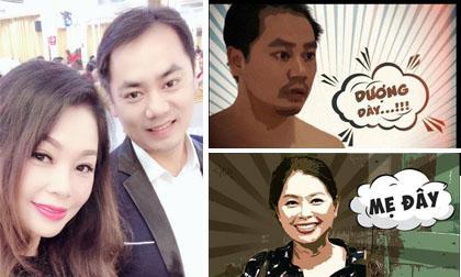 Thanh Tú cháo lòng, diễn viên Thanh Tú, sao Việt