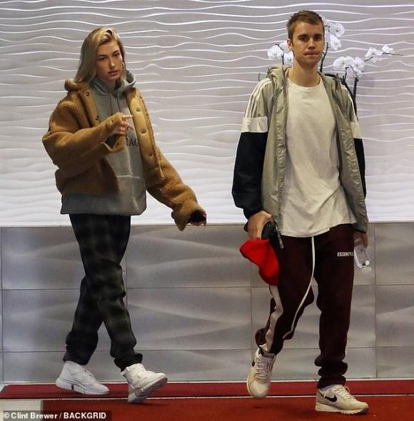 Justin Bieber,Hailey Bieber,Selena Gomez,sao Hollywood
