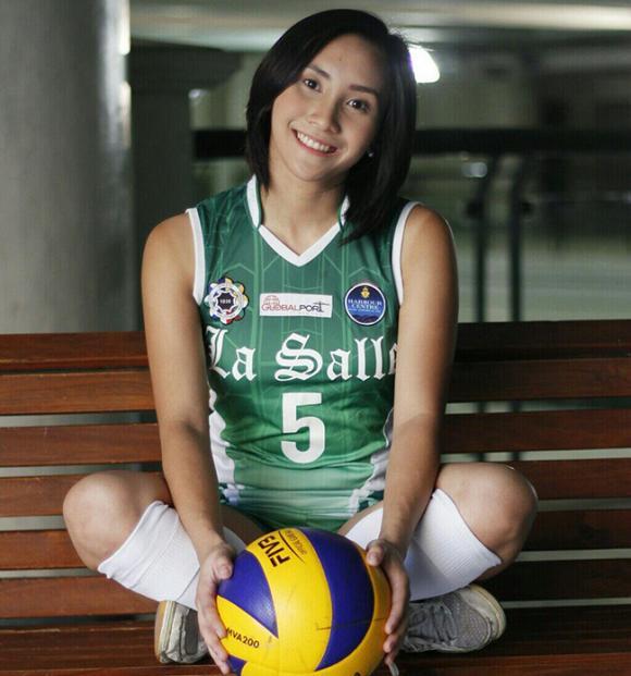 nữ cầu thủ bóng chuyền Philippines, nữ thần bóng chuyền philippines, nữ VĐV bóng chuyền xinh đẹp