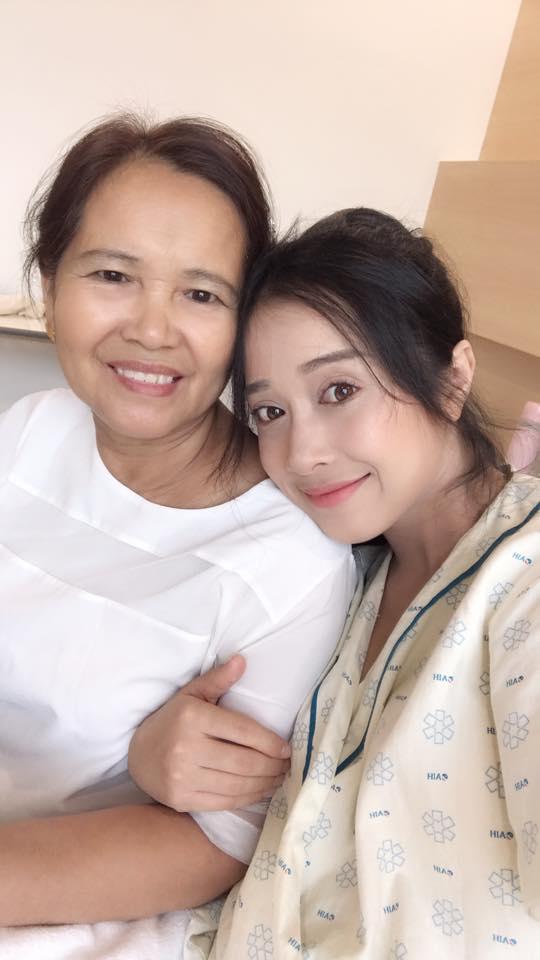 em gái Nhã Phương sinh con, em gái Nhã Phương, Nhã Phương, sao Việt