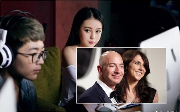 Tâm sự phụ nữ, Hạnh phúc gia đình, Jeff Bezos ly hôn