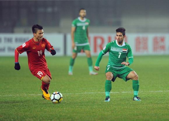 Quang Hải, đội tuyển Việt Nam, Iran, Asian cup 2019