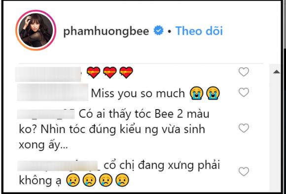 Phạm Hương,rộ tin đồn Phạm Hương sang Mỹ sinh con,sao Việt
