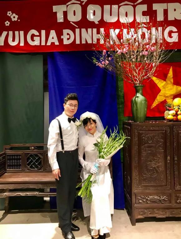 Mc thảo vân,diễn viên công lý,ảnh cưới mc thảo vân