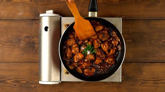món gà, gà rim, món ăn mùa lạnh