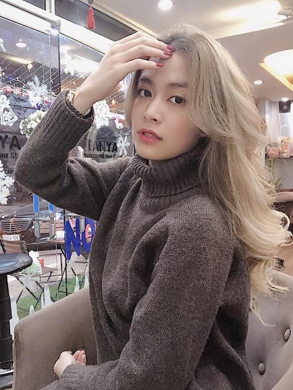 Hoàng Thùy Linh,Hoàng Thùy Linh f5 mái tóc,sao Việt