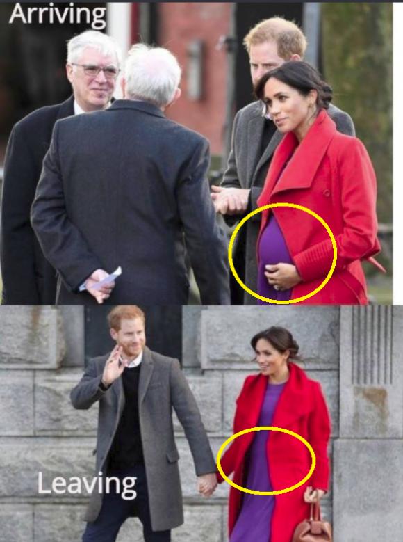 Hoàng gia Anh,Meghan Markle,Meghan mang thai giả