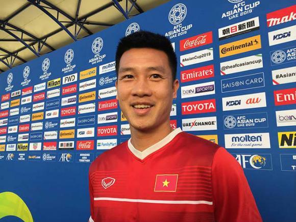 Huy Hùng, đội tuyển Việt Nam, vòng 1/8 Asian Cup 2019
