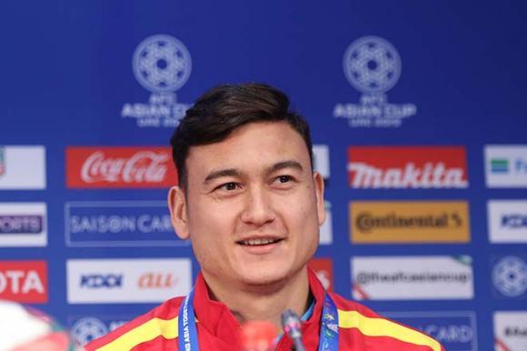 Đặng Văn Lâm, đội tuyển Việt Nam, Asian Cup 2019, Việt Nam vs Jordan