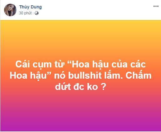 Thùy Dung, Hoa hậu Thùy Dung, Hoa hậu của các Hoa hậu