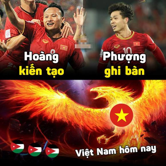 đội tuyển Việt Nam, Asian Cup, ảnh chế