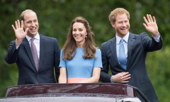 Hoàng tử Harry,Công nương Kate,Hoàng gia Anh