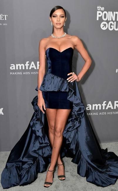 mỹ nhân hollywood tại amfAR, kim kardashian, kourtney kardashian, sao hollywood