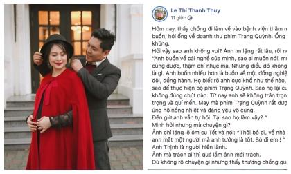 Đạo diễn Đức Thịnh, trấn thành,  'Cua lại vợ bầu' và 'Trạng Quỳnh'