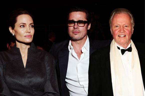 angelina jolie, brad pitt, jon voight, sao hollywood