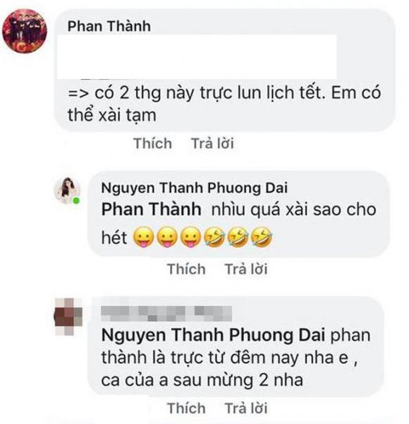 thiếu gia Phan Thành, bạn gái Phan Thành, Phương Đài,