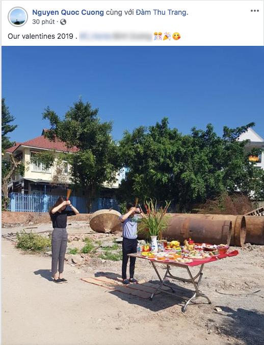 Valentine 2019,Cường Đô La,Đàm Thu Trang