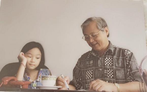 bố Giáng My qua đời, Hoa hậu Đền Hùng Giáng My, sao Việt